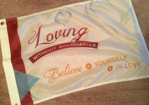 Loving Without Boundaries Community Flag